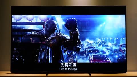 索尼Z8H 8K电视影片《头号玩家》片段体验