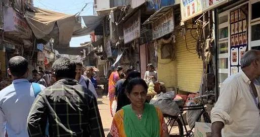 印度最大贫民窟之一达拉维贫民窟出现首例新冠肺炎确诊病例