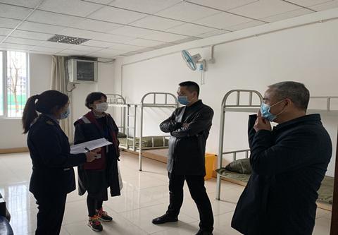 东坡区开展学校开学前卫生监督工作
