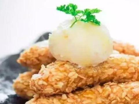 美食推荐:燕麦脆皮香蕉,蒜香蛤蜊,蛋虾仁,虾仁干煸菜花