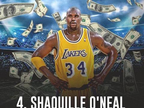 NBA历史薪水前九:霍华德上榜,前三均为高中生球员!