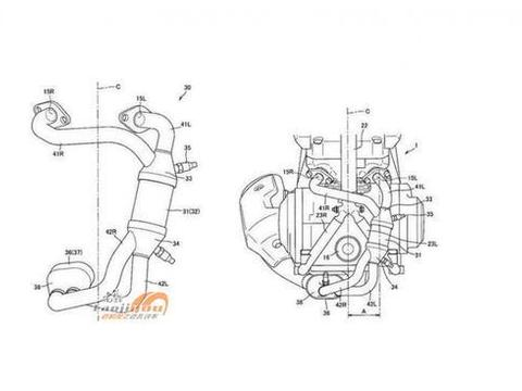 铃木250双缸引擎专利公布,国内GW250系列有望同步升级