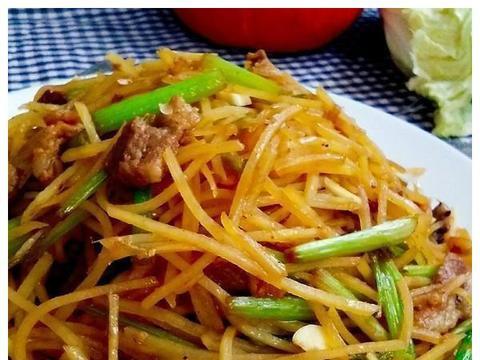 精选美食:家常土豆丝、酸菜粉儿、辣椒炒猪耳、萝卜干炒腊肉