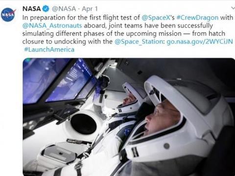 宇航员标配iPad?SpaceX载人航天飞船内部首次曝光