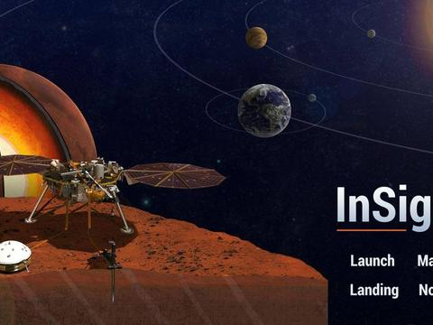 "NASA""洞察号""火星探测器摆脱困难,重回战场"