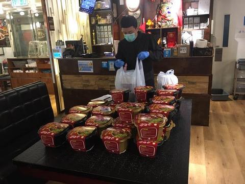 TVB男艺人火锅店生意因疫情跌足九成 靠外卖服务化危为机