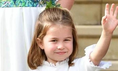 夏洛特公主撞衫戴安娜王妃,祖孙二人同穿荷叶飞边