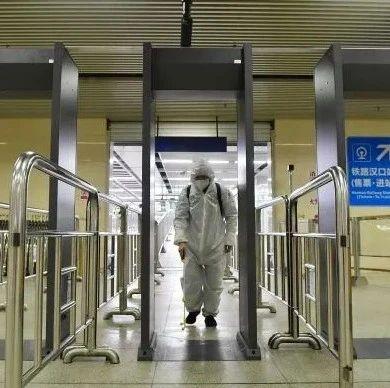 购票机、安检门1小时消毒1次,武汉地铁这样保障乘车环境卫生