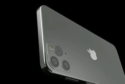 iPhone12概念图:刘海被屏幕覆盖 前镜头在边框上