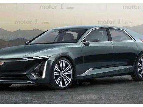 凯迪拉克旗舰级纯电动轿车——Celestiq渲染图发布