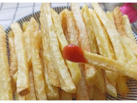 简单的三个土豆,一把淀粉,让你的下午充满幸福感,去试试吧!