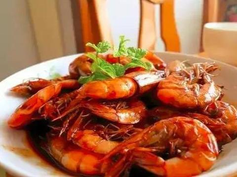 凉拌金针菇,素罗汉斋烩饭,红烧大虾的做法这几道家常菜的做法