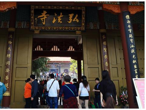 深圳香火旺盛的一座寺庙,目标是办成中国一流的佛家文化寺院