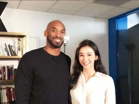 中国NBA女主播张曼源,曾被科比称赞身材好,现任男朋友身强力壮
