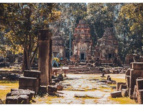 实拍吴哥窟最早的寺院,因一头坐骑而命名,究竟有什么奥秘?