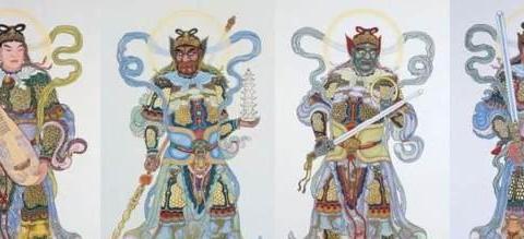西游记中道教四大天师和佛教四大天王,他们都有谁,有何神通?