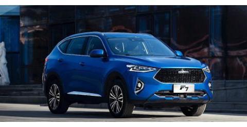 哈弗F系有多优秀?不仅走出中国,还首开国产性能SUV先河!