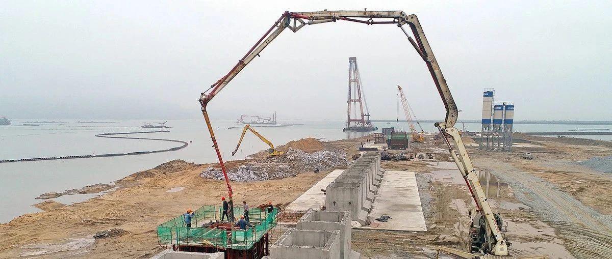 山河游艇制造基地码头,计划7月进行海域验收!
