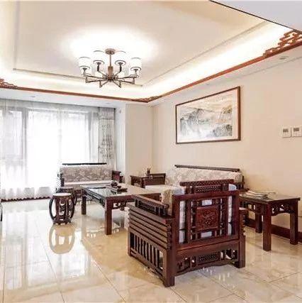 158㎡中式装修,中式古典元素溶入现代生活的新空间
