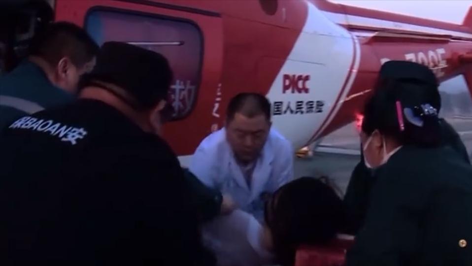 传奇故事:搜救一整天,还出动了直升机,最终安全救出失联女子