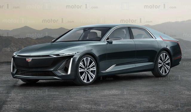 凯迪拉克Celestiq渲染图曝光,定为品牌旗舰级纯电动车型