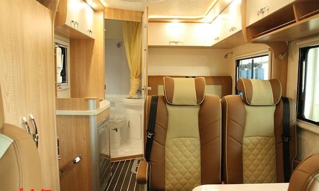 进口底盘,双对坐会客区设计,性能更强悍的依维柯C型房车