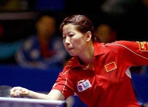 中国首位女乒大魔王,如今43岁身居高位,面容保养年轻!