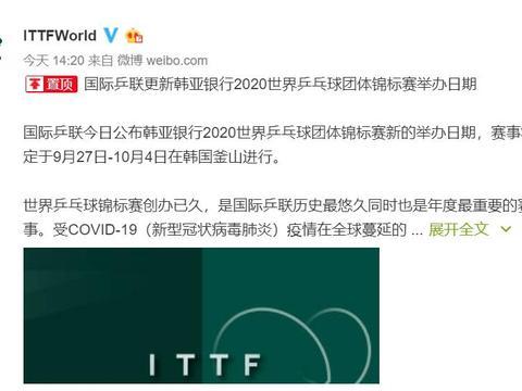 世乒赛延期后,国乒名单有变数,两人重燃希望,老将该让位吗?