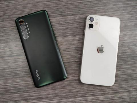 iPhone11好尴尬:对比realme X50 Pro屏幕竟然被碾压!