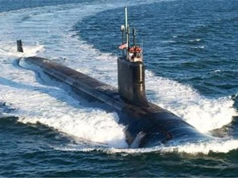 美国又一巨舰入水,不补给燃料还能服役30年,俄海军遇到强劲对手