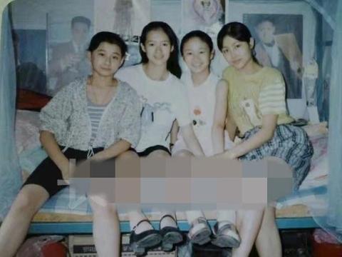 章子怡12岁旧照被爆出,五官精致模样青涩,从小就是美人胚子