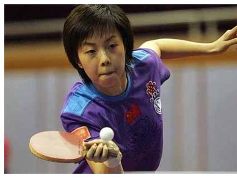 乒乓球''大魔王''张怡宁