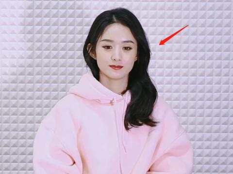 赵丽颖出来营业啦!身穿粉色卫衣,这颜值确定是33岁的样子?