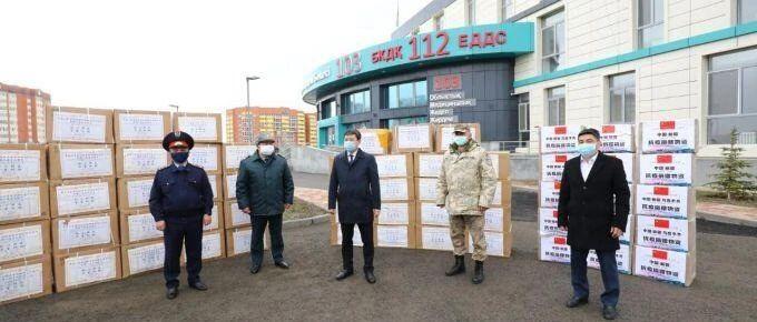 中、日、阿等多国援助物资抵哈!托卡耶夫:哈愿向中亚国家提供帮助