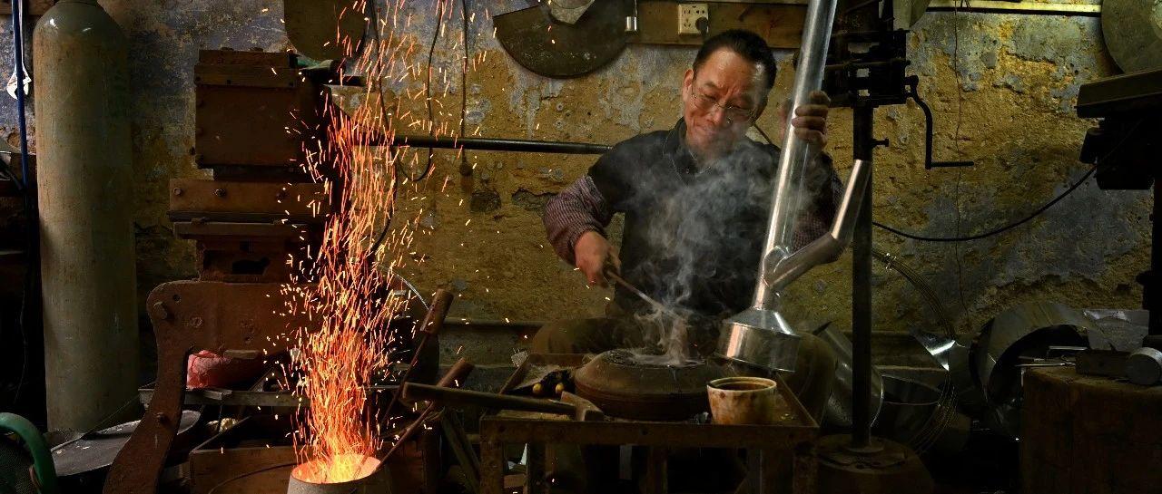 """清远手艺人与守艺人   四代传承的铁匠:""""儿子的成就必定超越自己"""""""