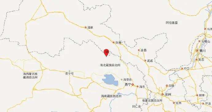 青海海北州祁连县发生3.4级地震,震源深度10千米