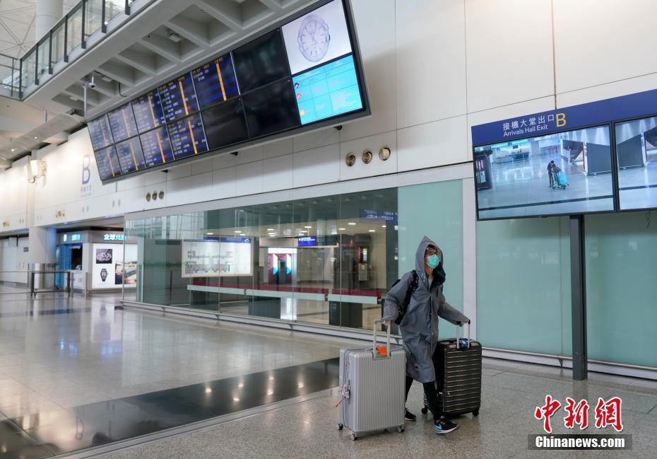 香港机场客流稀少 限制入境措施延长