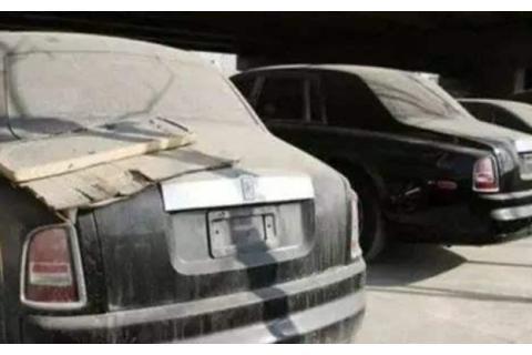 """迪拜最有名的名车""""墓地""""!千万级座驾废弃吃灰,放成了一堆废铁"""