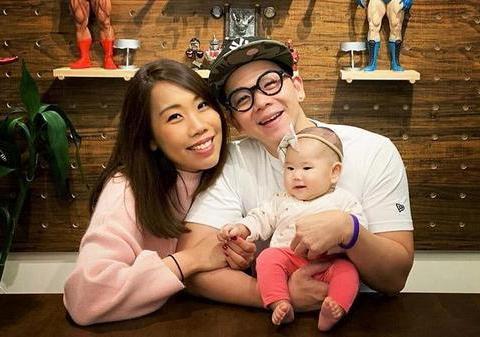 TVB男星低调为女儿庆祝出生一百天:希望疫情快点过去