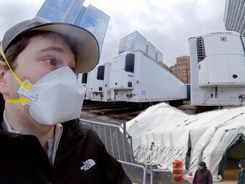 知名博主郭杰瑞:3000万美国人没有任何保险,每个州都在抢呼吸机