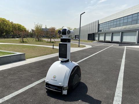 本月底,消毒灭菌机器人在上海马桥人工智能创新试验区量产