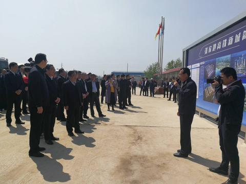 江苏省常委、苏州市委书记莅临中铁五局张家港机电安装项目调研