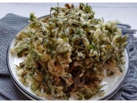 """3月底,这种""""嫩树叶""""裹上面一炸,比椒盐蘑菇更香,不吃就亏了"""
