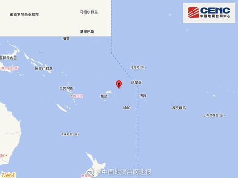 """16级超强""""台风""""掠过斐济,甚至引发地震?分析:只是偶然巧合"""