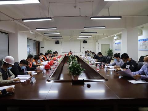 中铁五局深圳地铁14号线项目举行下穿惠盐高速防坍塌桌面推演