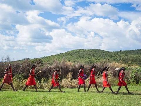 非洲草原隐居着一神秘部落,肯尼亚马赛人