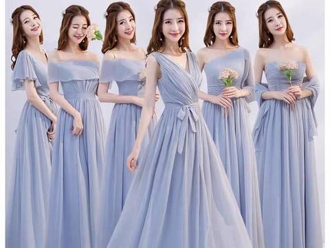 心理测试:闺蜜婚礼你会穿哪款伴娘服?测你未来老公能不能降服你