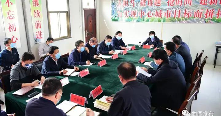 邯郸曲周:县委书记李凡对城市建设工作提出要求