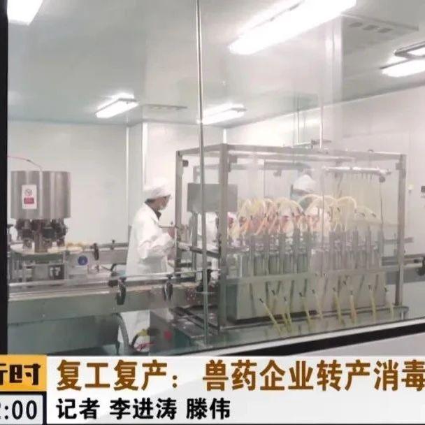 北京疫情防控一线:兽药企业转产消毒产品