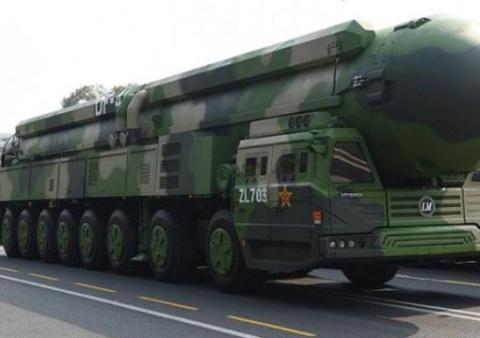 实力强劲!中国东风-41的射程范围有多大?基本可以打遍全球